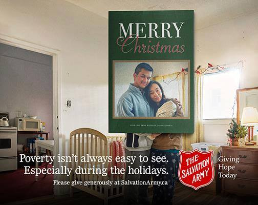 Salvation Army Billboard 2016