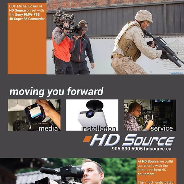 Print Ad for HD SOURCE Cameras