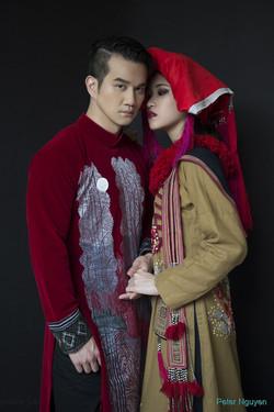 Phi Huynh Model - Ao Dai (Vu Viet Ha)