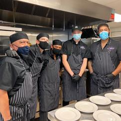 Kitchen team!