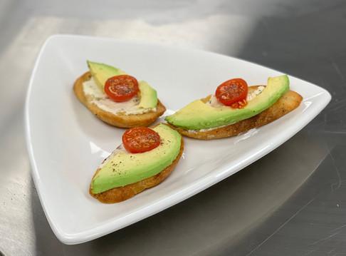 Herb Cheese Crostini