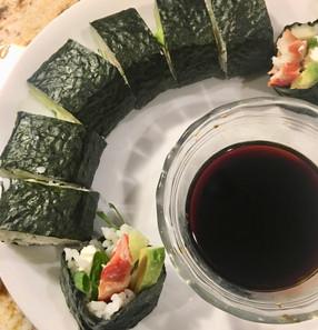 Shrimp and Avocado Roll