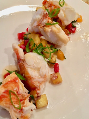 Poached Lobster