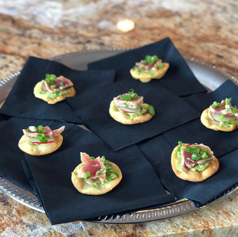 Seared Tuna Canape