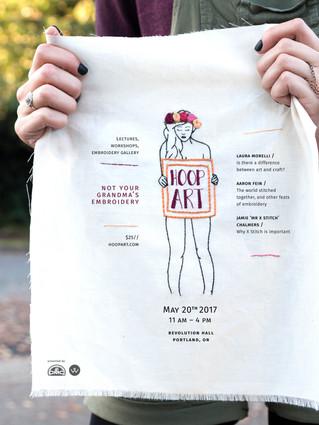 Hoop Art Event