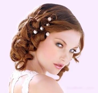 Peinados para pelo corto para una boda