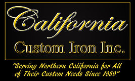 California Custom Iron Logo