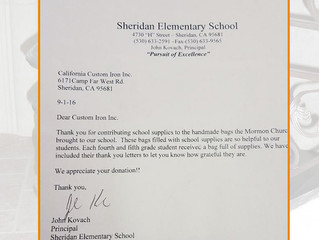 Helping Local Elementary School