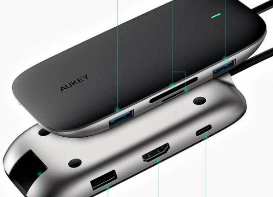 Aukey USB-C Hub Adapters Review: Instantly Add Ports to Your Mac