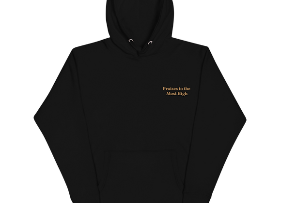 ''Praises to the Most High'' Unisex Hoodie