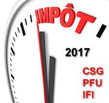 Loi de finances 2018 : l'IFI et le PFU confirmés.