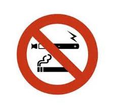 Interdiction de vapoter à compter du 1er octobre 2017