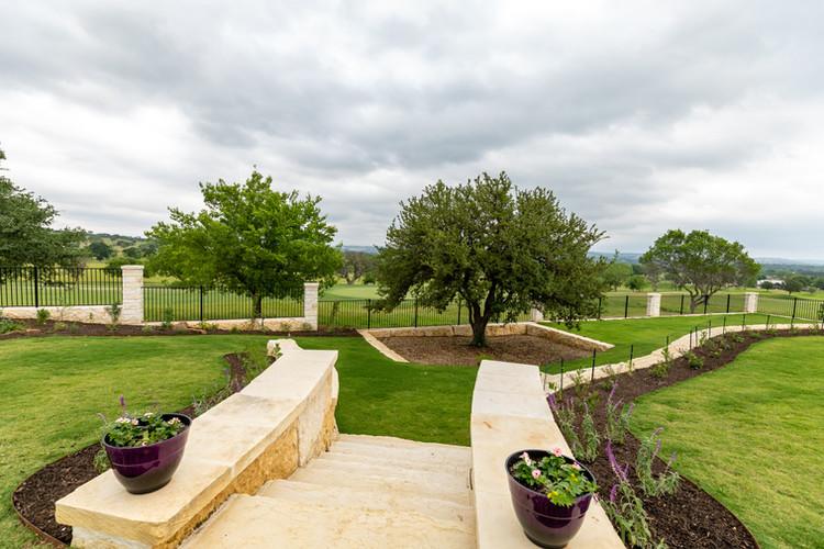 Estate Site Work to maximize views