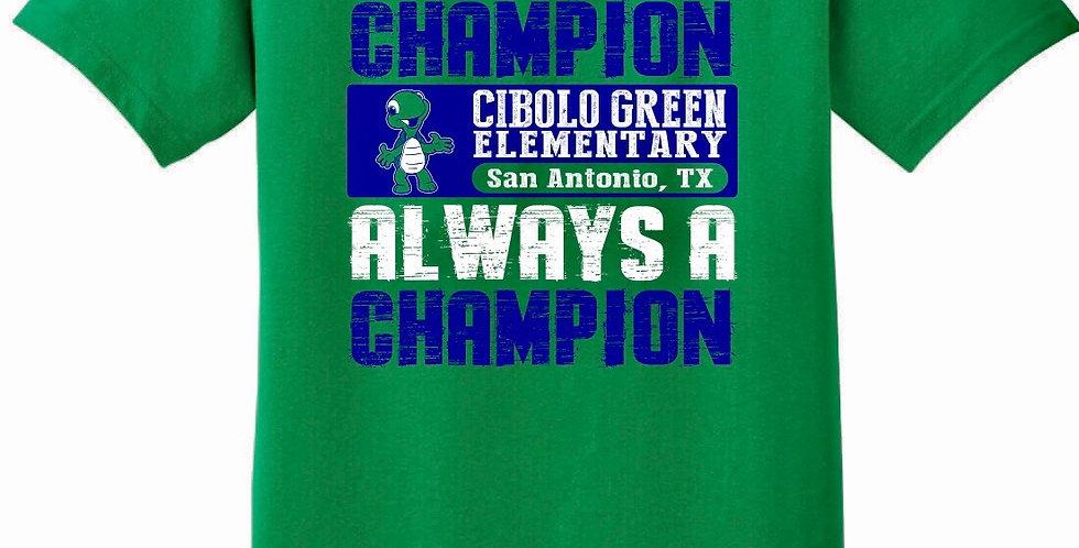 Short Sleeve Green Spirit Shirt