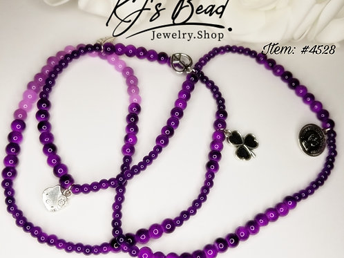 Purple Passion | Waist Beads