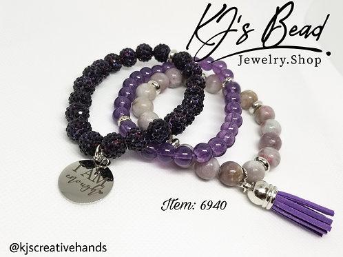 3 Stack Purple Set