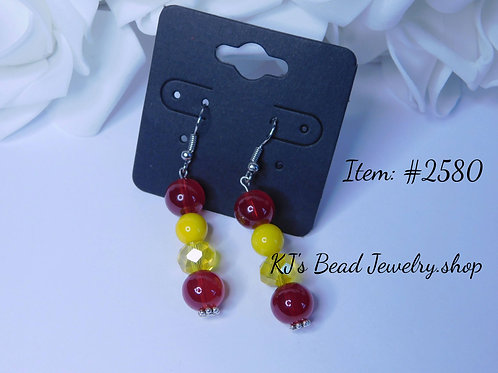 Red Agate & Yellow Glass