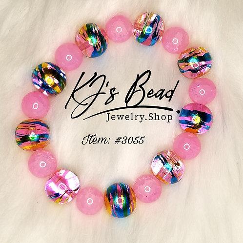 Pink Galaxy Bracelet