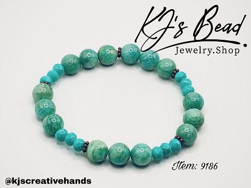 Sea Green & Blue Bracelet