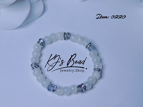 Princess White Bracelet