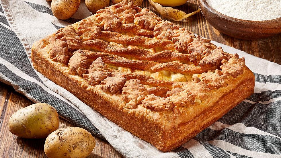 """Пирог """"Картофель - грибы - сыр"""""""