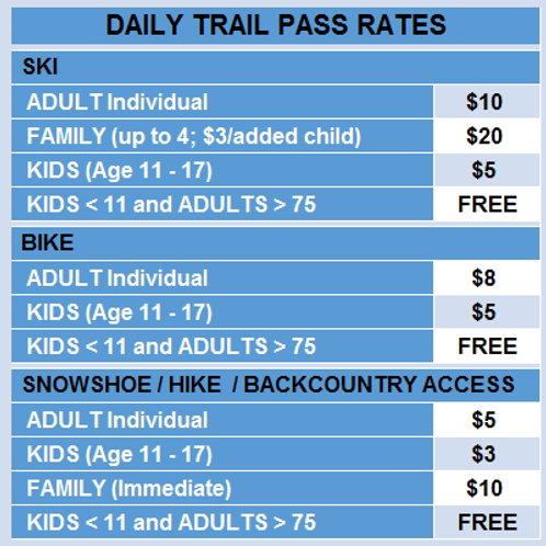 2020 - 2021 Day Pass