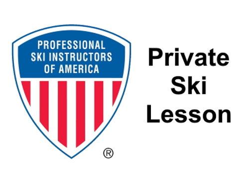 Ski Lesson - Private
