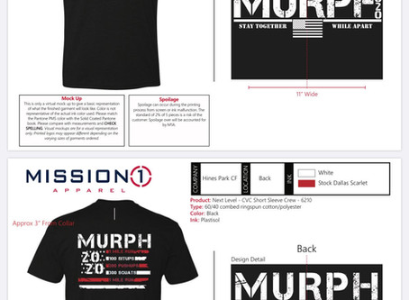 Murph T Shirt Order