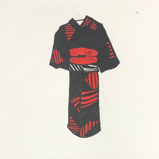 Kimono Sketch