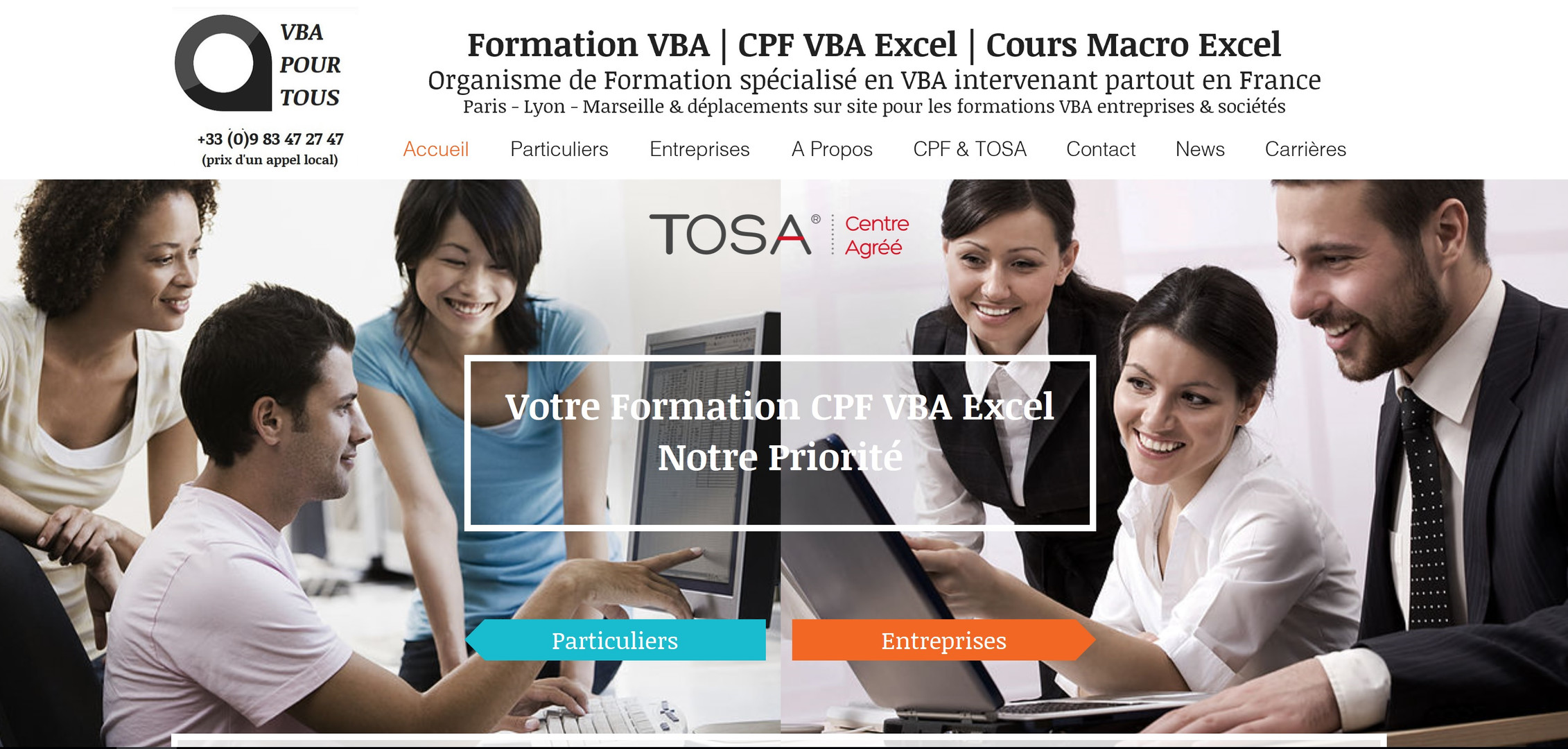 référencement site internet paris