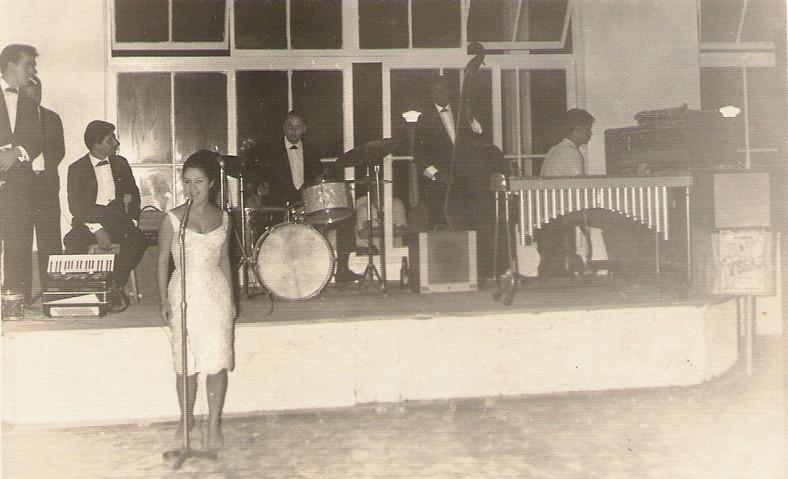 Argus Montenegro com Luciane Franco, Geraldo Argus e Adão