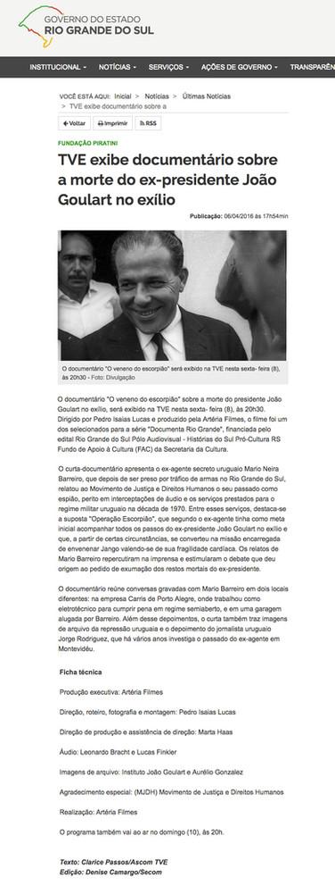 Fundação Piratini 05/04/2016