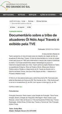 Fundação Piratini 02/05/2014