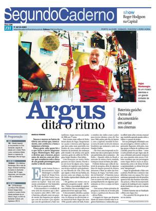 Zero Hora, 21/04/2012