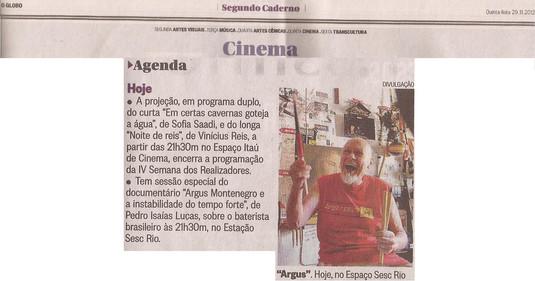 O Globo, 29/11/12