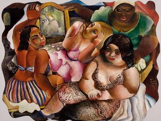 Exposição na Pinacoteca de São Paulo reúne mais de 200 obras de Di Cavalcanti