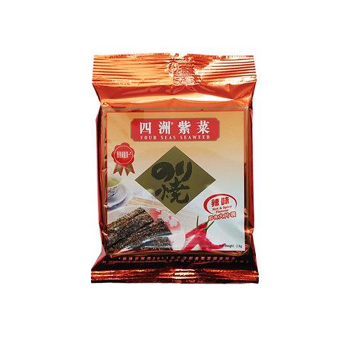 四洲紫菜(辣味)(2.8g)