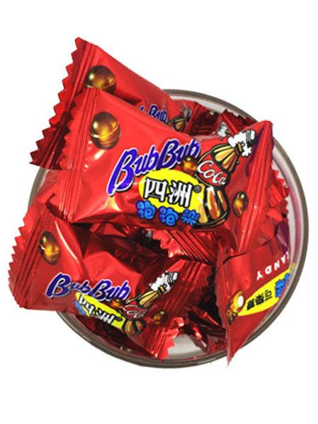 四洲泡泡樂糖(半磅)(約60粒)