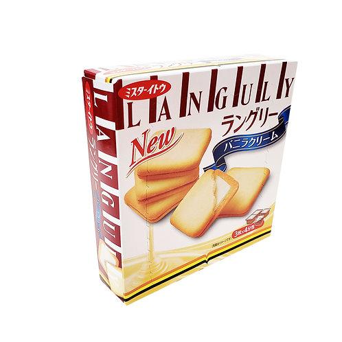 日本三文治餅(雲呢拿味)