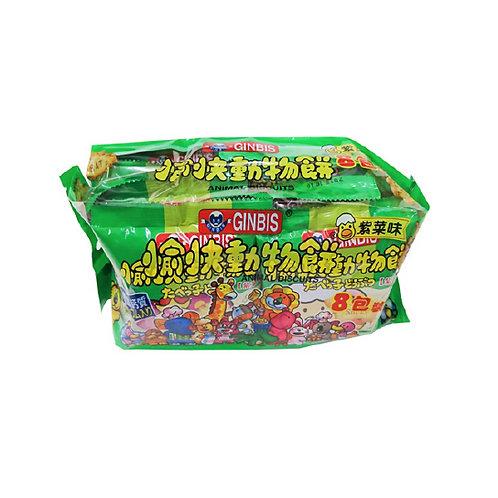 愉快動物餅(8包裝)