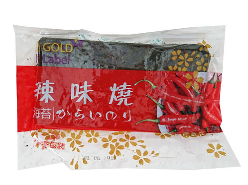 金牌對切紫菜(辣味)