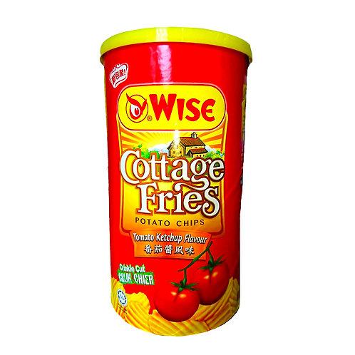 Wise罐裝蕃茄醬風味薯片