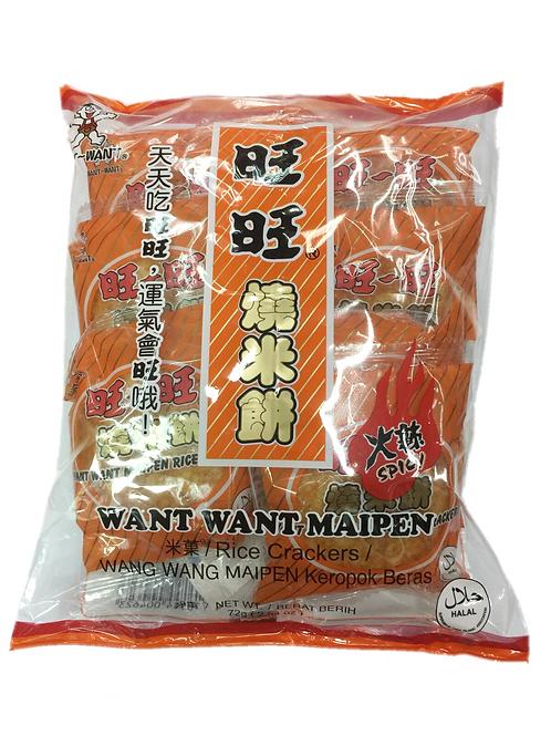 旺旺燒米餅(72g)