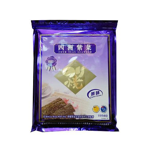 四洲紫菜100束(原味)