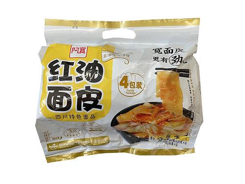 阿寛麻醬味紅油面皮4包裝