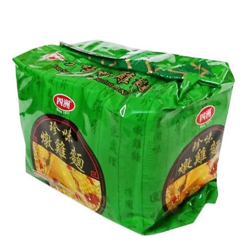 四洲珍味燉雞湯麵 (5包裝)