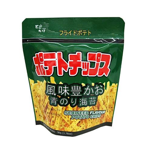 EDO巨浪大切薯條(紫菜味)