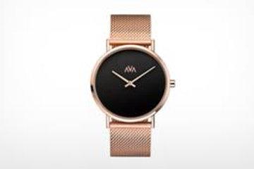 AVA Mani Rosekleurig zwart Limited Edition