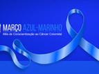 Março azul marinho contra o câncer colorretal
