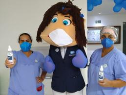 Campanha de higienização das mãos no HMTJ dura todo o mês de maio